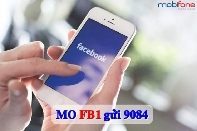 Lướt Facebook thả ga cùng gói cước FB1 MobiFone