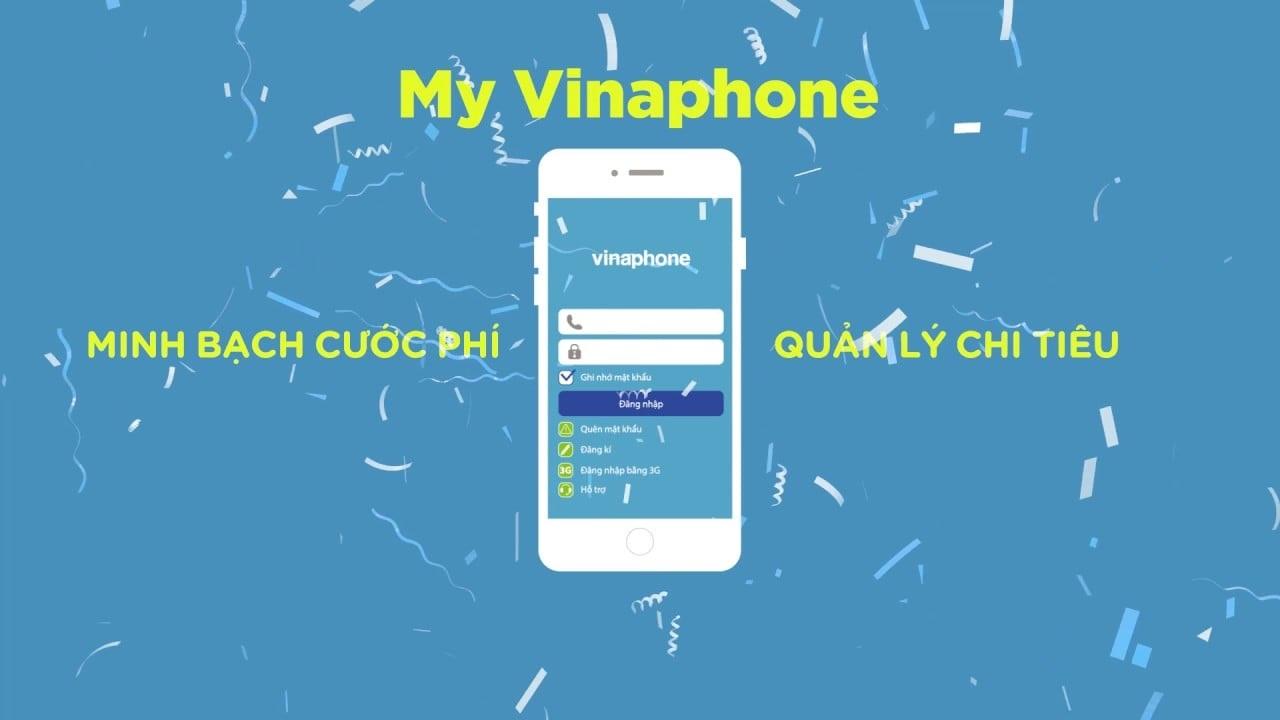 My Vinaphone là ứng dụng thông minh được Vinaphone phát hành